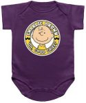 Peanuts Charlie Brown Oh Good Grief Baby Bodysuit