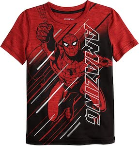 Kids Red Amazing Spider-Man T-Shirt