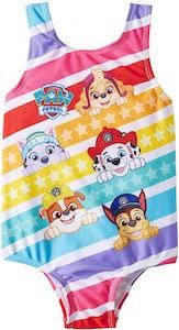 Little Girls PAW Patrol Swimsuit