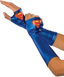 Supergirl Costume Gloves