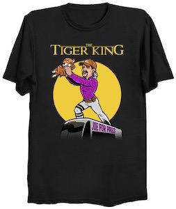 Tiger King Meets The Lion King T-Shirt