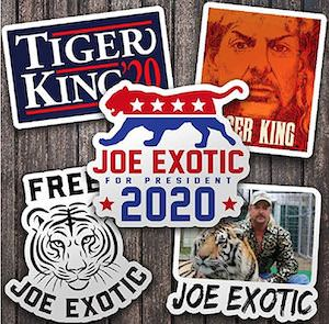 Tiger King Sticker Pack