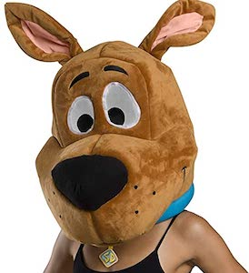 Adult Size Scooby-Doo Head