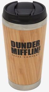 Bamboo Dunder Mifflin Travel Mug