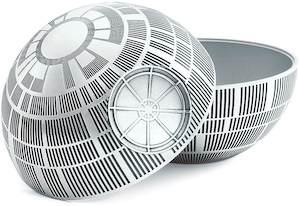 Pewter Death Star Storage Bin