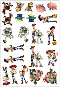 Toy Story Temporary Tattoos