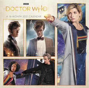 2021 Mini Doctor Who Wall Calendar