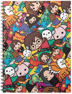 Harry Potter Cartoon Style Characters Notebook