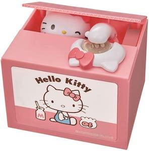 Hello Kitty Stealing Coin Money Bank