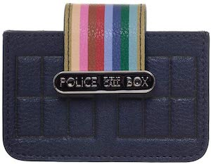 Tardis And Stripes Card Holder