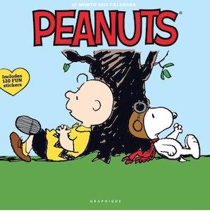 2021 Peanuts Happiness Is Wall Calendar