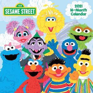 2021 Sesame Street Wall Calendar