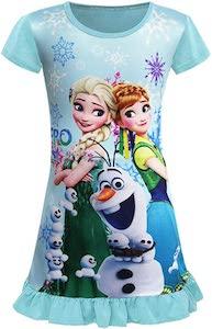 Girls Frozen Nightgown