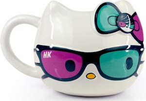 Hello Kitty Hipster Glasses Mug