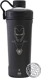 Metal Iron Man Shaker Bottle