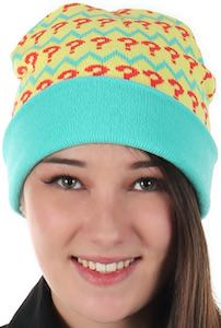 7th Doctor Who Knit Beanie Hat