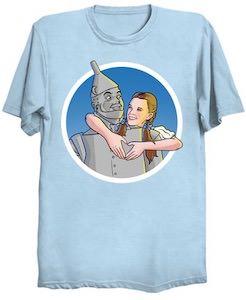 Tin Man Has A Heart T-Shirt
