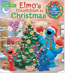 Elmo's Countdown To Christmas Book