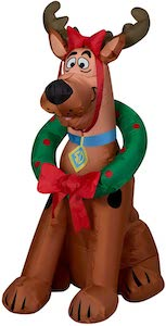 Reindeer Scooby-Doo Christmas Inflatable