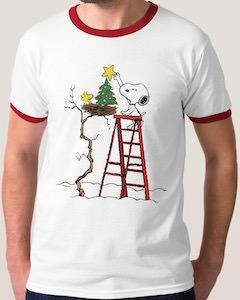 Woodstock's Christmas Tree Christmas T-Shirt