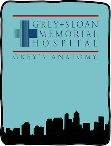 Grey Sloan Memorial Hospital Blanket