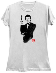 James Bond Posing T-Shirt