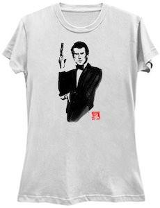 James Bond Posing T-Shirt