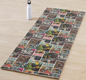 Star Wars Comic Yoga Mat