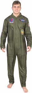 Top Gun Flight Suit Pajama Onesie