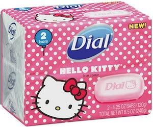 Hello Kitty Soap Bars