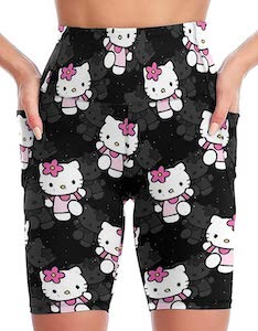 Women's Hello Kitty Workout Shorts