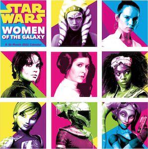 2022 Star Wars Women Of The Galaxy Wall Calendar